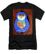 Owl And Owlettes Men's T-Shirt (Athletic Fit)