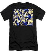 Party Time Abstract Men's T-Shirt (Athletic Fit)