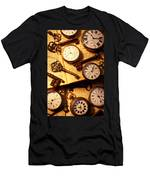 Pocket Watches And Old Keys Men's T-Shirt (Athletic Fit)