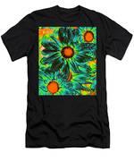 Pop Art Daisies 17 Men's T-Shirt (Athletic Fit)