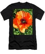 Poppy Blossom Men's T-Shirt (Athletic Fit)