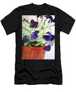 Pot Of Flowers One Men's T-Shirt (Athletic Fit)