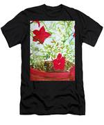 Pot Of Flowers Two Men's T-Shirt (Athletic Fit)
