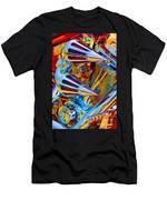 Psychodelic Chopper-2 Men's T-Shirt (Athletic Fit)