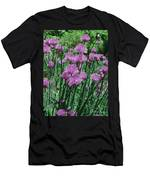 Purple Spikes Men's T-Shirt (Athletic Fit)