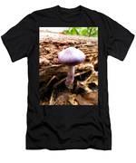Purple Wild Mushroom Men's T-Shirt (Athletic Fit)