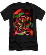 Rainbow Snake 1 Men's T-Shirt (Athletic Fit)