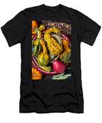Red Pear And Gourds Men's T-Shirt (Athletic Fit)