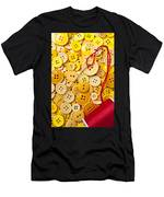 Red Thread And Yellow Buttons Men's T-Shirt (Athletic Fit)
