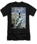 Reflecting Sculpture Men's T-Shirt (Athletic Fit)