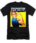 Sharon Rosie The Riviter Men's T-Shirt (Athletic Fit)
