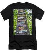 Signs On A Tree Men's T-Shirt (Athletic Fit)