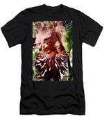 Splattered Iris Men's T-Shirt (Athletic Fit)