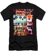 Steampunk - Electrical Control Room Men's T-Shirt (Athletic Fit)