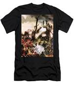 Storming Of Maori Fort  Men's T-Shirt (Athletic Fit)