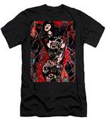 Tattoo Nude Men's T-Shirt (Athletic Fit)