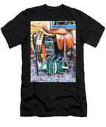 The English Saddle Men's T-Shirt (Athletic Fit)