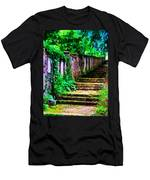 The Wall Of Gravestones Men's T-Shirt (Athletic Fit)