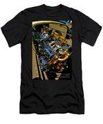 Twin Engines Men's T-Shirt (Athletic Fit)