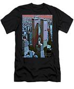 Twin Towers Men's T-Shirt (Athletic Fit)