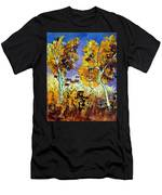 Two Trees In Fall Men's T-Shirt (Athletic Fit)