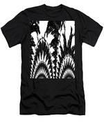 Undefined Black Lace Men's T-Shirt (Athletic Fit)