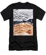 Weathered Wood Reflections On The Rainbow Men's T-Shirt (Athletic Fit)