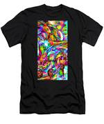 Welcome To My World Triptych Men's T-Shirt (Athletic Fit)