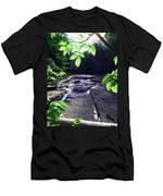 Whitaker Falls Ny Men's T-Shirt (Athletic Fit)