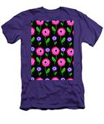 Young Florals  Men's T-Shirt (Athletic Fit)
