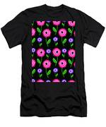 Young Florals  Men's T-Shirt (Athletic Fit)