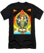 Bodhisattva Of Compassion Men's T-Shirt (Athletic Fit)