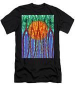 I Flow To Violet Men's T-Shirt (Athletic Fit)