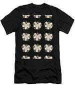 Artistic Sparkle Floral Black And White Graphic Art Very Elegant One Of A Kind Work That Will Show G Men's T-Shirt (Athletic Fit)