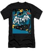Batman Art Men's T-Shirt (Athletic Fit)