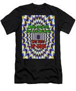 Brian Exton - Fractal Men's T-Shirt (Athletic Fit)