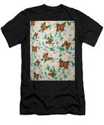 Butterflies And Daisies - 1 Men's T-Shirt (Athletic Fit)