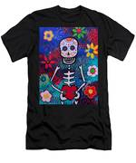 Corazon Day Of The Dead Men's T-Shirt (Athletic Fit)