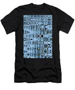 Dead Saguaro Abstract Men's T-Shirt (Athletic Fit)
