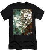 Heart Key Modern Valentines Day Art Men's T-Shirt (Athletic Fit)