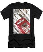 London Telephone 3b Men's T-Shirt (Athletic Fit)
