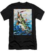 Pike In Action Men's T-Shirt (Athletic Fit)