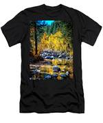 Reflections Of Gold Men's T-Shirt (Athletic Fit)