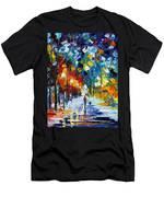 Romantic Winter Men's T-Shirt (Athletic Fit)