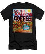 South American Coffee Men's T-Shirt (Athletic Fit)