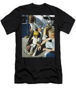 Space: Chimpanzee, 1961 Men's T-Shirt (Athletic Fit)