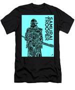 Stormtrooper - Star Wars Art - Blue Men's T-Shirt (Athletic Fit)