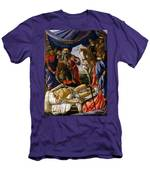 The Discovery Of Holofernes' Corpse Judith Returns From The Enemy Camp At Bethulia Men's T-Shirt (Athletic Fit)