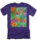 Tropical Gems Men's T-Shirt (Athletic Fit)