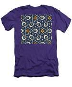 Turkish Textile Pattern Men's T-Shirt (Athletic Fit)